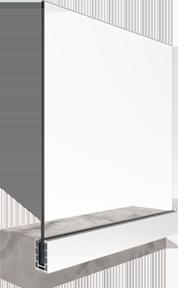 bv9900S система за стъклени парапети за страничен монтаж