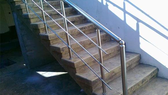 staircase aluminium railings