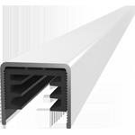 Corrimano quadrato per ringhiera in vetro WX 6024