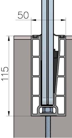 технически чертеж за профил BV7500U