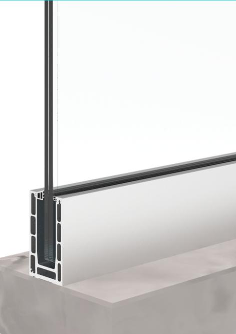 bv9900 regulated glass railing