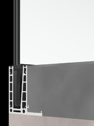bv6500LU L-образен профил за вграден монтаж