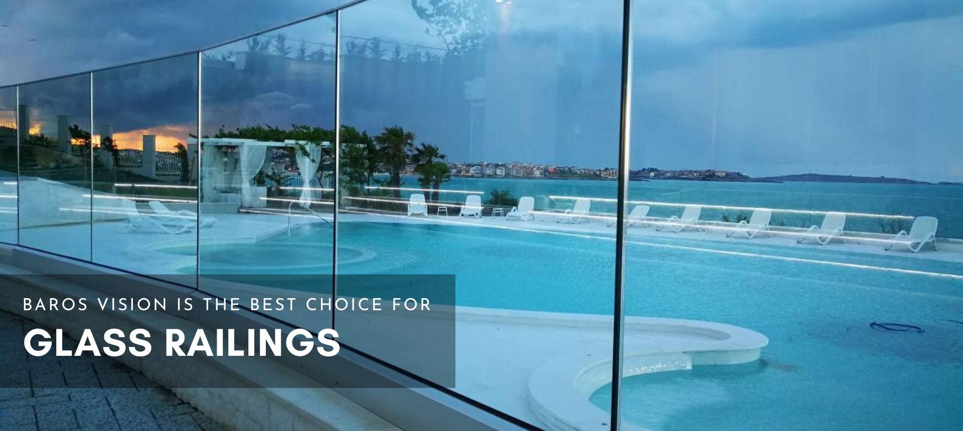 glass panels glass pool fences