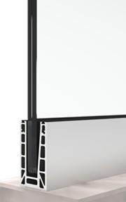 bv6500 glass railing system