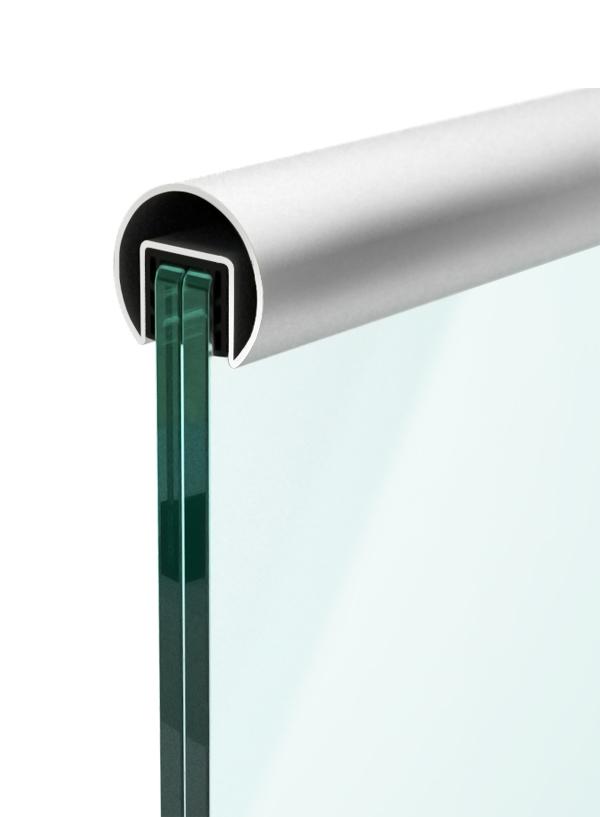 ръкохватки за стъклени парапети от барос вижън