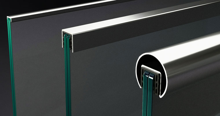 handrails for glass railings by baros vision mobile picture