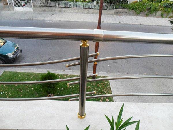 елоксация на алуминиев парапет