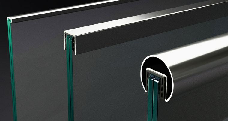 corrimano per ringhiere in vetro di baros vision mobile picture